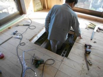 【掘ごたつ施工開始】大阪 交野 自然素材健康住宅の耐震リフォーム02