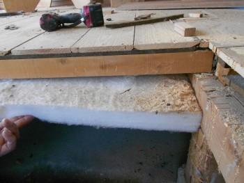 【床下断熱材敷込】大阪 交野 自然素材健康住宅の耐震リフォーム01