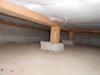 【床下断熱材敷込】大阪 交野 自然素材健康住宅の耐震リフォーム02