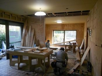【内装下地工事】大阪 交野 自然素材健康住宅の耐震リフォーム