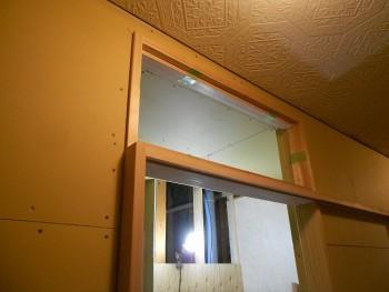 【ランマ窓製作】大阪 交野 自然素材健康住宅の耐震リフォーム