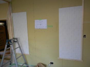 【壁エコカラット貼】大阪 交野 自然素材健康住宅の耐震リフォーム