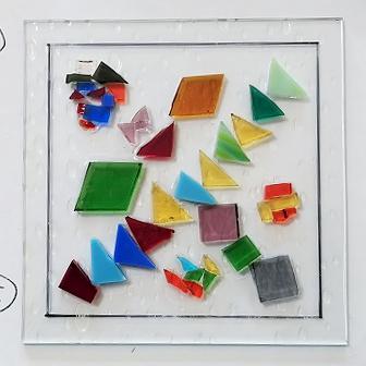 ガラスクラフト作品①