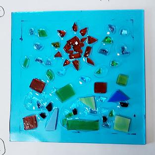 ガラスクラフト作品④