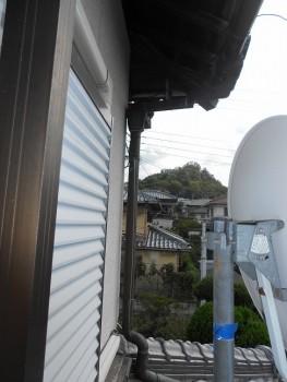 【雨樋やり替え】大阪 交野 自然素材健康住宅の耐震リフォーム01