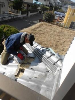 【屋根廻り調査】大阪 交野 自然素材健康住宅の耐震リフォーム