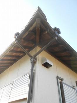 【雨樋やり替え】大阪 交野 自然素材健康住宅の耐震リフォーム04