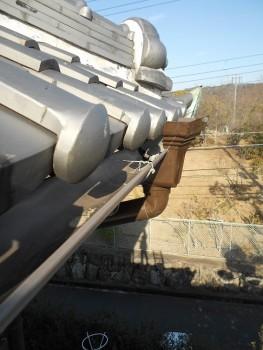 【雨樋やり替え】大阪 交野 自然素材健康住宅の耐震リフォーム05