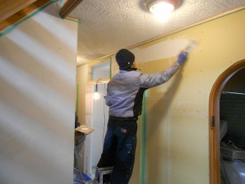 【左官仕上げ】大阪 交野 自然素材健康住宅の耐震リフォーム