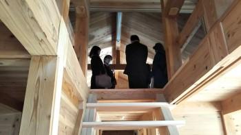 服部緑地「板倉造り」事務所棟移築の竣工式07