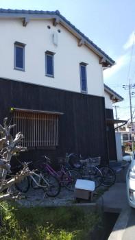 堺南野田 ゼロエネの板倉造りの家 外構 調査03