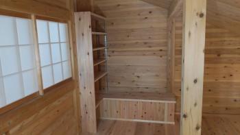 和歌山市内原 板倉造りの家 ロフト増設床貼・手すり取付04