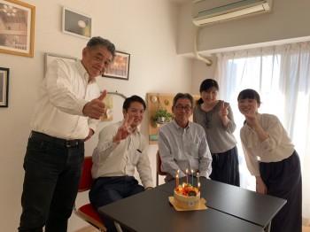 高島さんお誕生日3|丹陽社