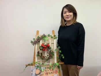 クリスマスリースを作ろう!6|自然素材で家づくりなら丹陽社