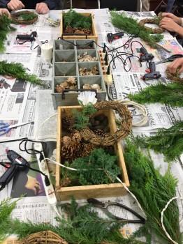 クリスマスリースを作ろう!1|自然素材で家づくりなら丹陽社