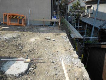 東大阪客坊 大阪平野を一望する家 遣り方
