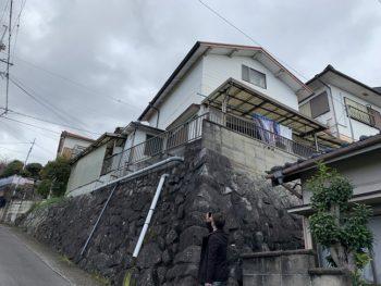 東大阪客坊 大阪平野を一望する家 現地調査
