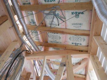 東大阪客坊 大阪平野を一望する家 電気工事