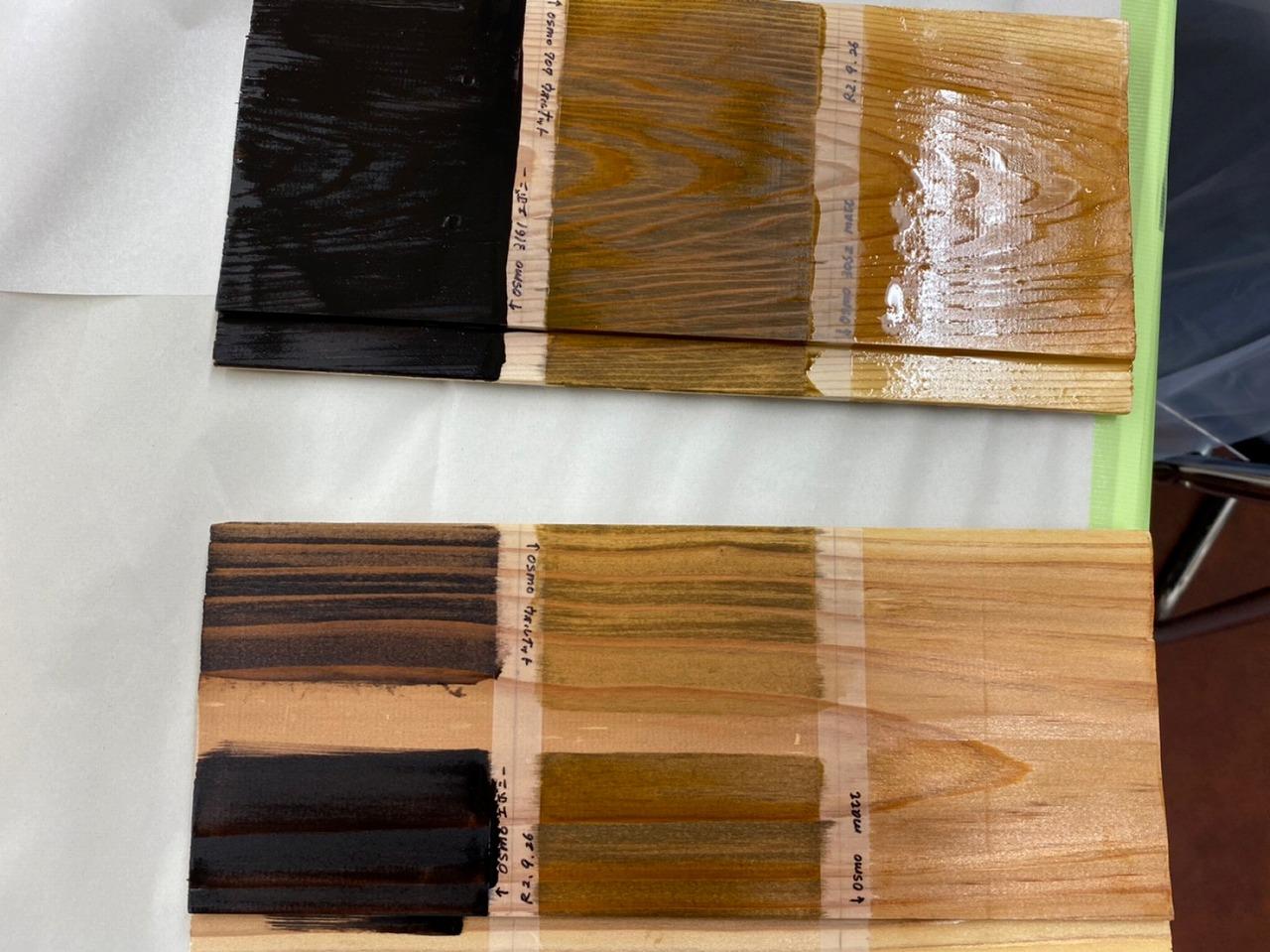 自然素材の塗装体験2